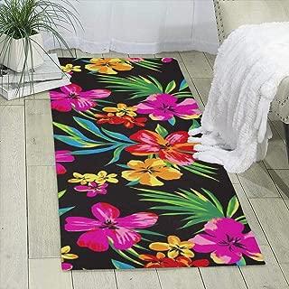 Best hawaiian print area rugs Reviews