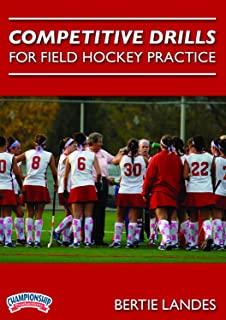 Championship Productions Bertie Landes: Competitive Drills for Field Hockey Practice DVD