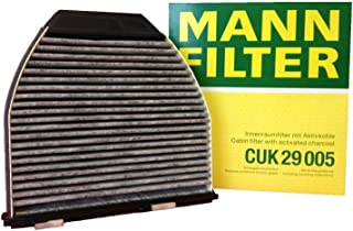 Mercedes Cabin Filter CHARCOAL C300 C350 C63 E350 E550 GLK350 MANN (Pack of 2)