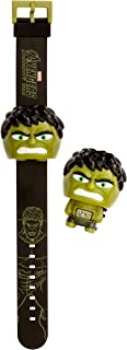 BulbBotz Boy's 'Marvel Avenger's Hulk' Digital Plastic Watch, Color: Green (Model: 2021845)