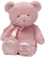 Baby GUND My First Teddy Bear Stuffed Animal Plush, Pink, 24