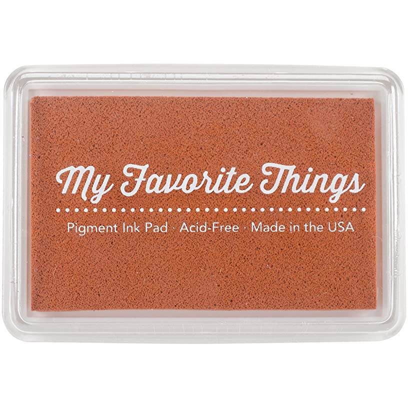 My Favorite Things PIGMENT-56 Pigment Ink Pad 3 x 2 in. - Orange Zest