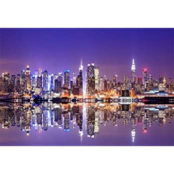 Yeele 10x8ft Photography Background Manhattan City Street West Village New York Buildings Downtown NYC Alley Guide Board Stop Parking Photo Booth Backdrop Wallpaper
