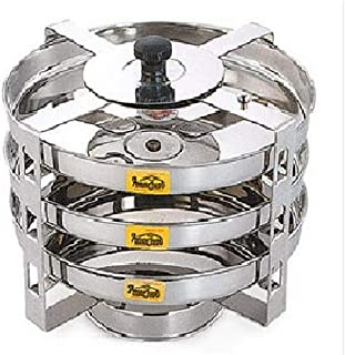 Tabakh DC-103 3-Plate Stainless Steel Dhokla Stand