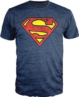 Best Superman Logo Shield Heathered Navy T-Shirt Review