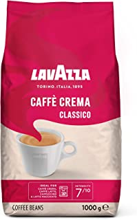 Lavazza koffiebonen Caffè Crema Classico, per stuk verpakt (1 x 1 kg) 1 kg (6er Pack)