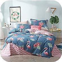 Pink Flamingo Bedding Sets Bed linens Girls Duvet Cover Set Bed Sheets Set Queen King size-style4-220x240cm