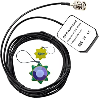 HQRP antena externa GPS para Garmin GPSMAP 545S / 546 / 546s / 550S / 555S / 720 / 720s / StreetPilot III GPS + HQRP medid...