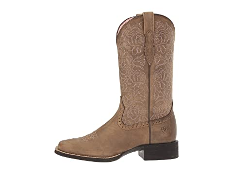 Ariat Redondear Rica Marrón Oscuro Remuda Bombernaturally Brownnaturally HBp0wHRq