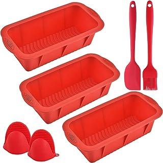 Red White 2pcs set Kitchen silicon Bakeware New Silicone Baking Board