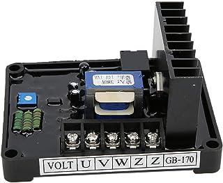 CHICIRIS GB170 AVR, AVR para generador STC, generador de Cepillo trifásico Estable de 10 A, excitación armónica para generador para generador de Voltaje trifásico 220/380/400 Vca