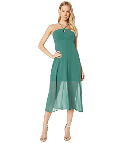 BCBGeneration Strappy Slip Dress VDW6215168 (Dark Green) Women
