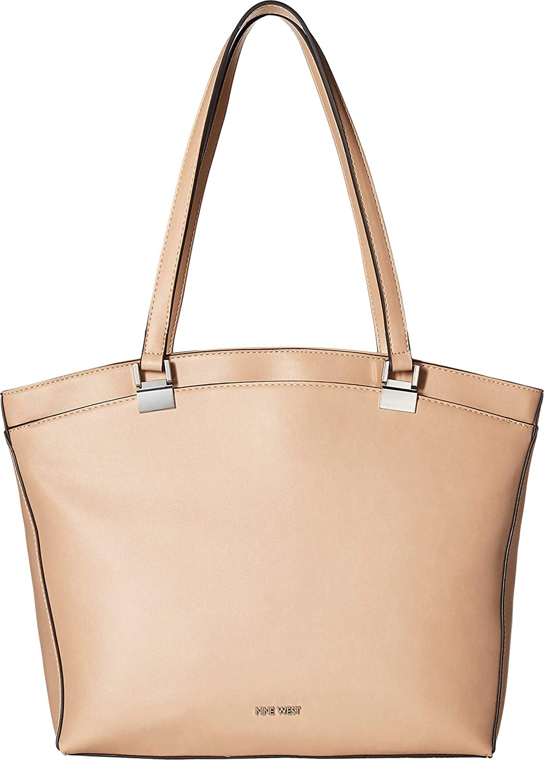 Nine West Womens Macklyn Tote Barely Nude One Size