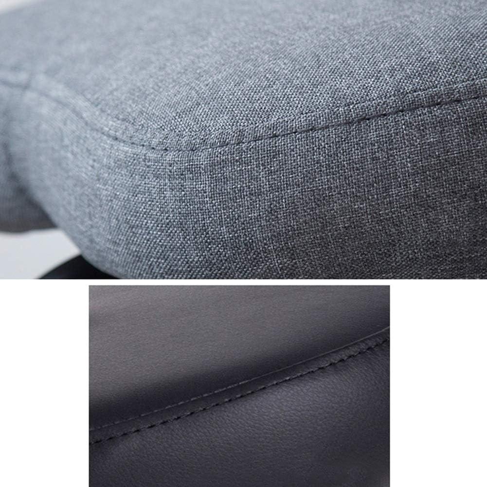CAIJUN Tabouret Ergonomique Genoux Châssis En Acier Rotatif Réglable En Hauteur Posture D'assise Corrective Protéger La Colonne Vertébrale, 2 Couleurs (Color : Gray) Gray