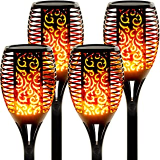 Best solar flame flickering torch lamp Reviews