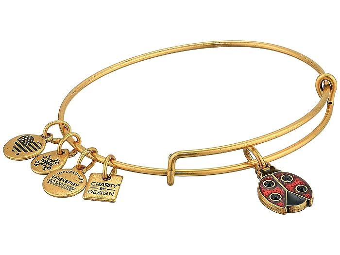 aa11aca97faf4 Alex and Ani Charity By Design Ladybug II Bangle Bracelet | Zappos.com