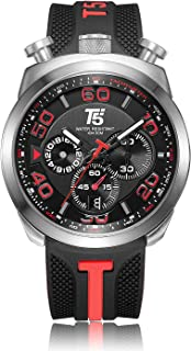 T5 Casual Watch For Men Analog Rubber - H3619G.A