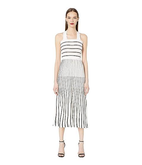 Sonia Rykiel Light Ribs and Pleats Dress