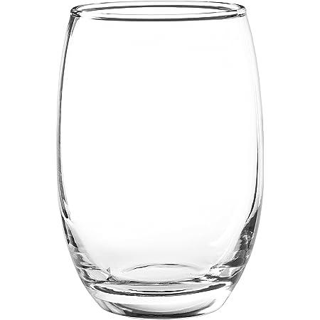 Amazon Com Cristar Stemless Red Wine Glasses 15 Ounces Set Of 12 Wine Glasses