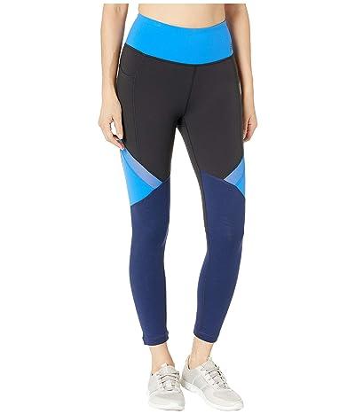 New Balance High-Rise Transform Pocket Crop Pants (Vivid Cobalt) Women