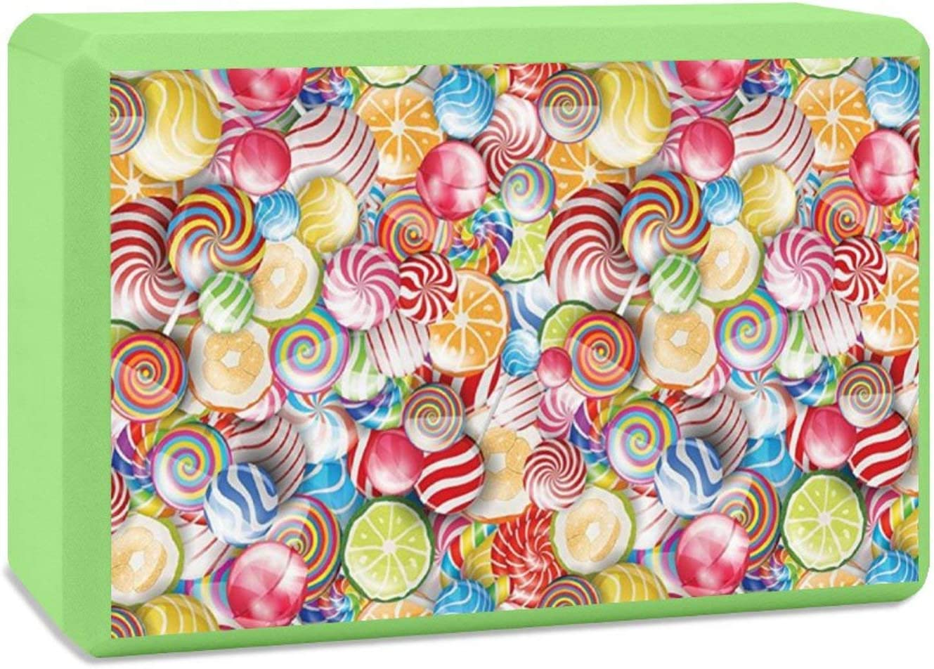 Yoga Block Colorful Luxury goods Spiral All items in the store Sugar Hi Sweets Lightweight Candy EVA