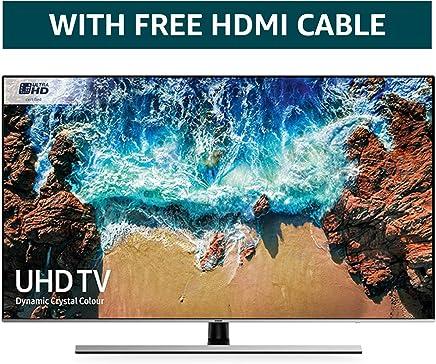 5822458263c3 Samsung 75NU8000 75-Inch Dynamic Crystal Colour Ultra HD Smart 4K TV -  Slate Black