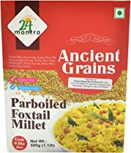 Parboiled Foxtail Millet - 500 Gms - 2 Pack - 24 Mantra