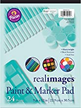 """Real Images Paint & Marker Pad, Heavyweight, 9"""" x 12"""", 24 Sheets"""