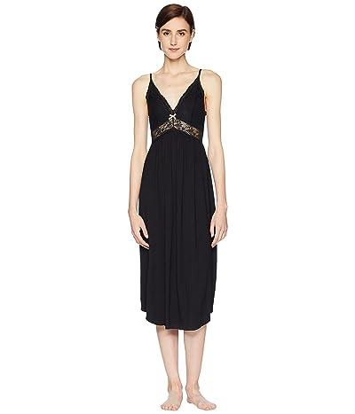 Eberjey Colette Long Gown (Black) Women