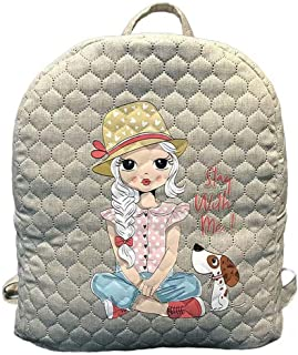 Shantai Women Casual Polyester Printed Backpack Rucksack Travel Shopping Bag Daypack Customized Bags
