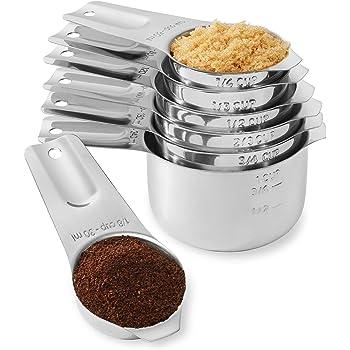 Tazas Cucharas Medidoras Set para Horneado Café Té Moderno Nuevo Hot 10Pcs //