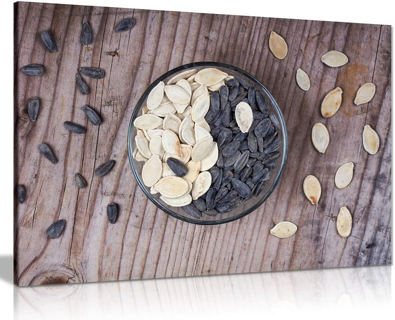 diseño simple y generoso Lienzo Lienzo Lienzo decorativo para parojo de cocina, Diseño de Ying Yang Seeds, A0 91x61cm (36x24in)  precios al por mayor