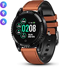 GOKOO Smart Watch for Men Activity Tracking Heart Rate Blood Pressure Monitor Sleep Tracker IP67 Waterproof Smart Watch Camera Control Sedentary Reminder Pedometer Calorie Counter Touchscreen