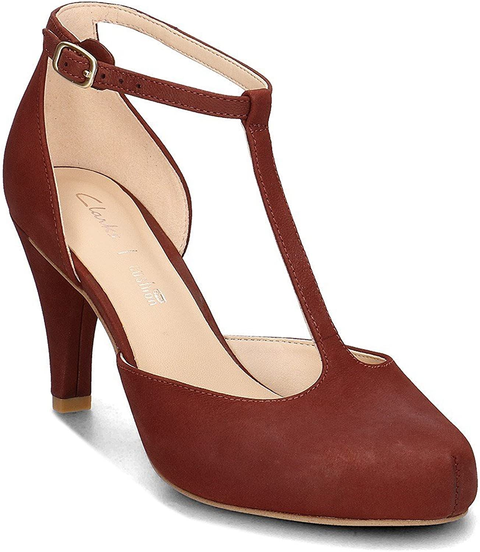 Clarks Schuhe 26.132.290 Dahlia Dahlia Dahlia Tulip Granate 302374