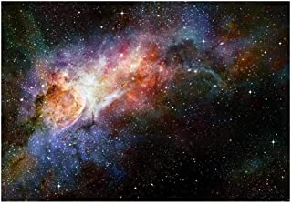 wall26 - Beautiful Multicolored Galaxy - Wall Mural, Removable Sticker, Home Decor - 100x144 inches