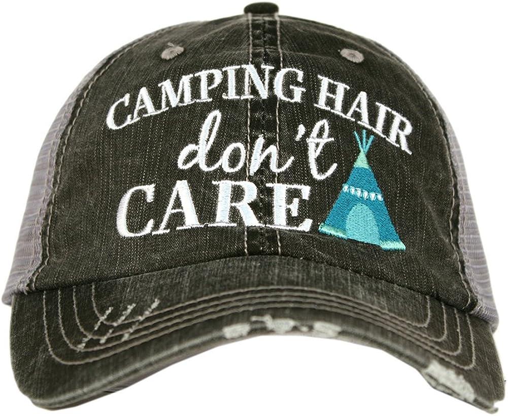 KBETHOS /'Boat Hair Don/'t Care/' Hat-Coral
