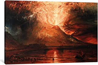 iCanvasART 1 Piece Vesuvius in Eruption Canvas Print by J.M.W Turner, 1.5 by 26 by 18-Inch