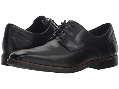 Rockport Slayter Plain Toe (Black) Men