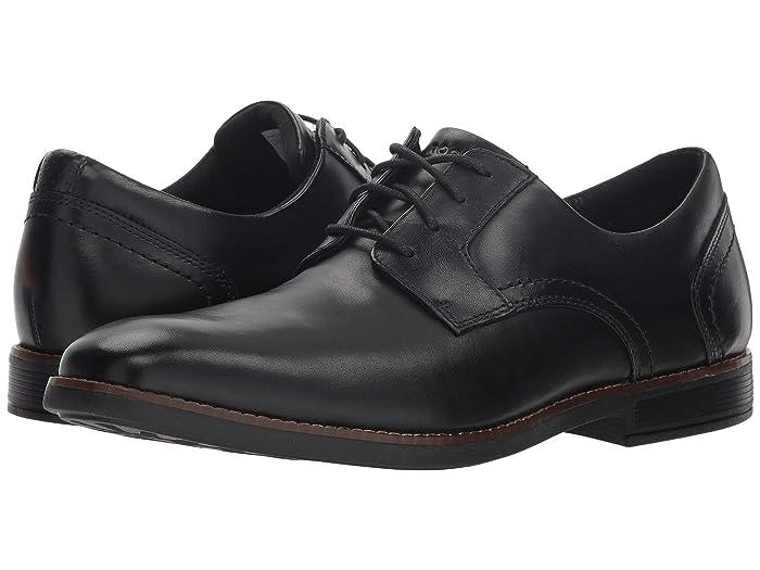 Rockport  Slayter Plain Toe (Black) Mens Shoes