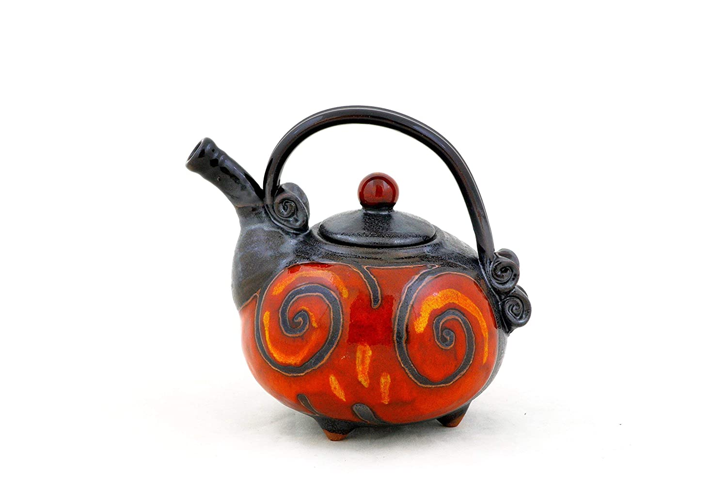 Ceramic half Serving Teapot Small trend rank Ho for one Pottery
