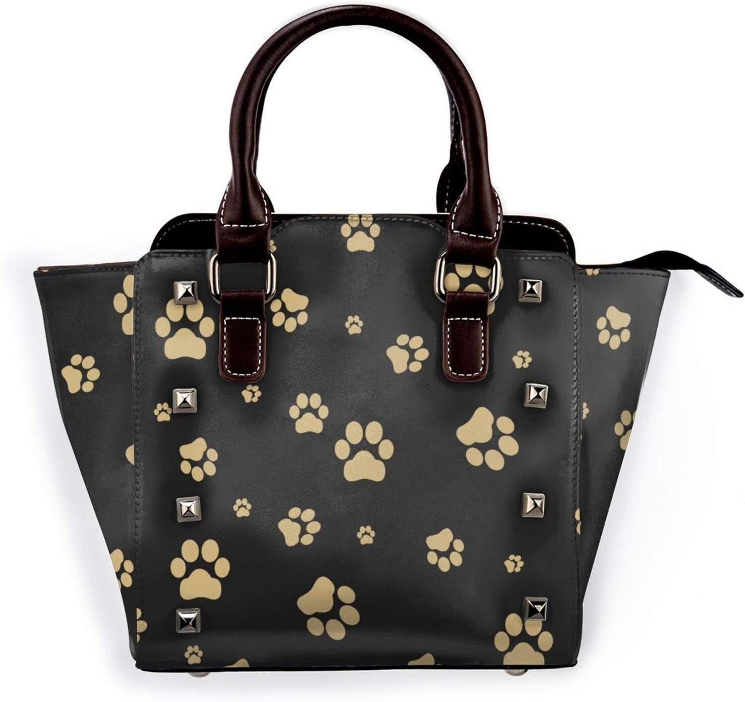 Tote Bag Today's only Dog Paw Gold Non-Fading Printed Handbag Shoulder Max 76% OFF 3D