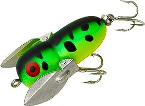Heddon Tiny Crazy Crawler Fishing Lures (Fluorescent Green Crawdad, 1 3/4-Inch)