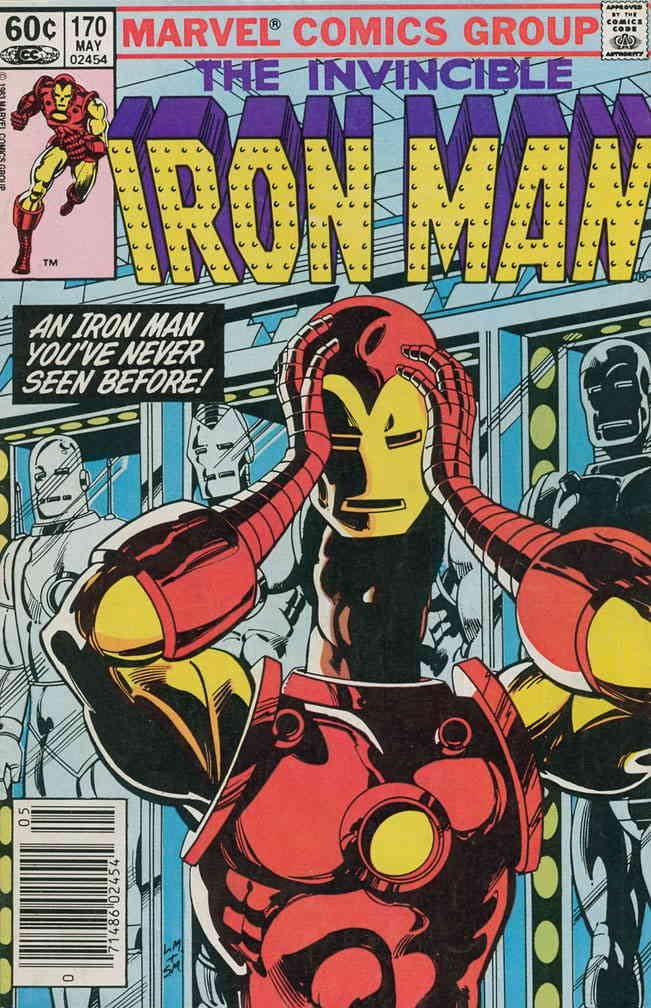 Iron Man 1st Series Max 66% OFF #170 VF book comic Marvel famous ;