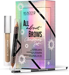 Wunder2 All About Brows Makeup Set, 0.11 Gram