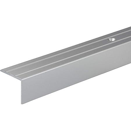 PVC Treppenkantenprofil Selbstklebend Winkelprofil Anti-Rutsch Treppenkante 41x25mm 1,30m