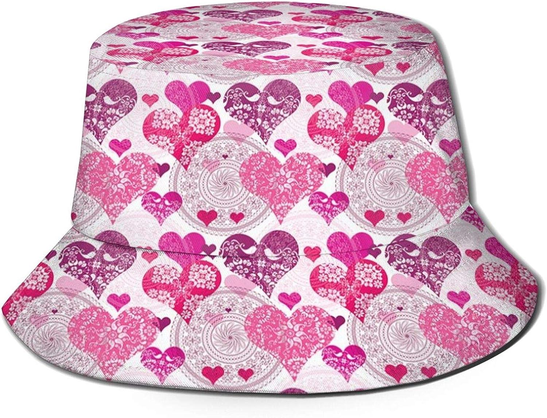 Clearance SALE! Limited time! TENJONE Cute Jacksonville Mall Print Bucket Hat S