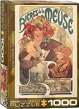 EuroGraphics Bieres de la Meuse by Alfons Mucha 1000 Piece Puzzle