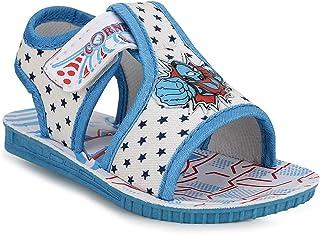J0YJ0 Kids Chu Chu Sound Musical First Walking Sandals for Baby Boys & Baby Girls