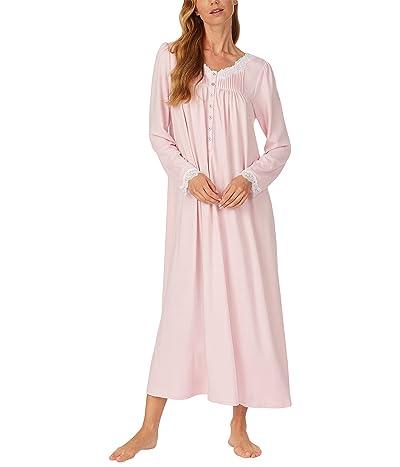 Eileen West Sweater Knit Ballet Nightgown (Blush) Women