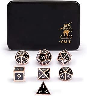 metal d6 dice set